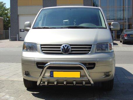 Volkswagen T5 Pushbar met carterbeschermer 60 mm
