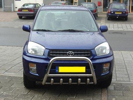 Toyota RAV tot 2006 Pushbar met carterbeschermer 60 mm