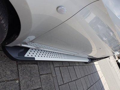 Peugeot Expert 2016+ L2 / L3 treeplanken aluminium