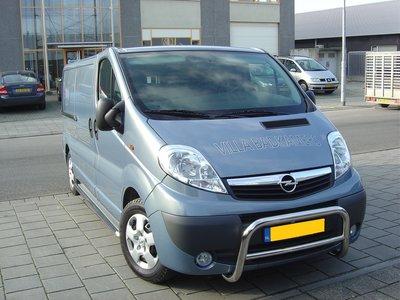 Opel Vivaro tot 2009 Pushbar 60 mm